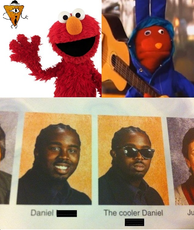 Nadie noto que Bodoque y Elmo tienen los mismos colores? claro que si lo hicieron estúpido - meme