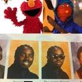Nadie noto que Bodoque y Elmo tienen los mismos colores? claro que si lo hicieron estúpido