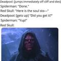 MCU and Deadpool Parody?
