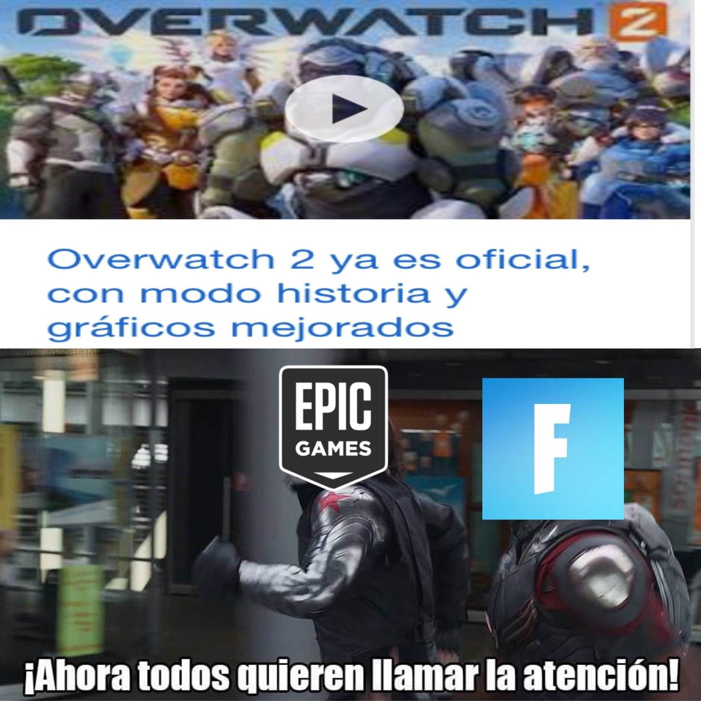 F por los que se compraron overwatch en switch - meme