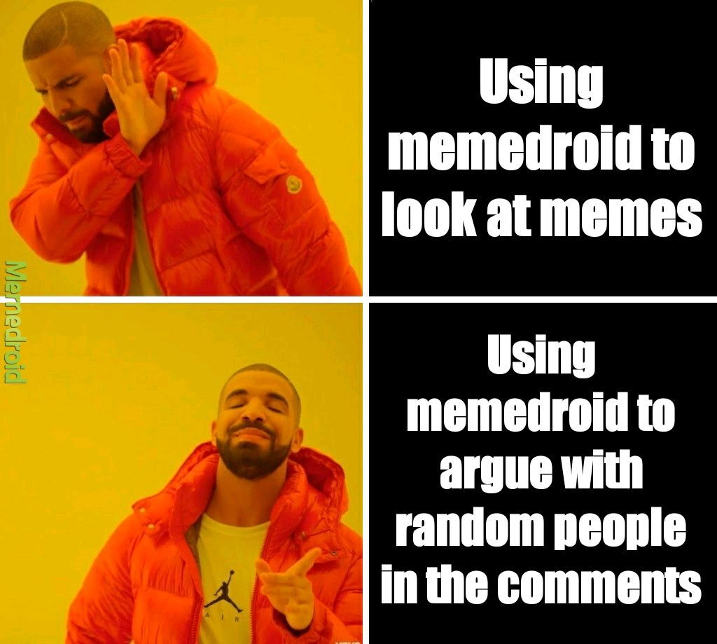 No good memes on memedroid