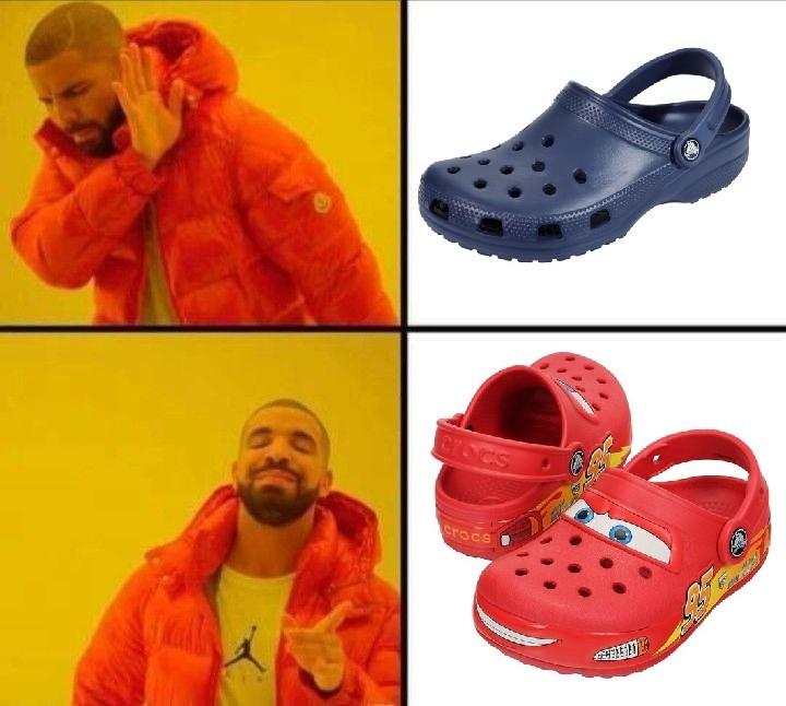Crocs de cars  - meme