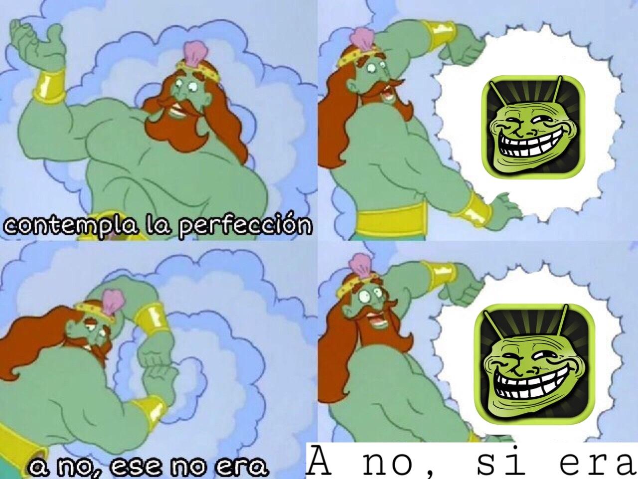 perfección - meme