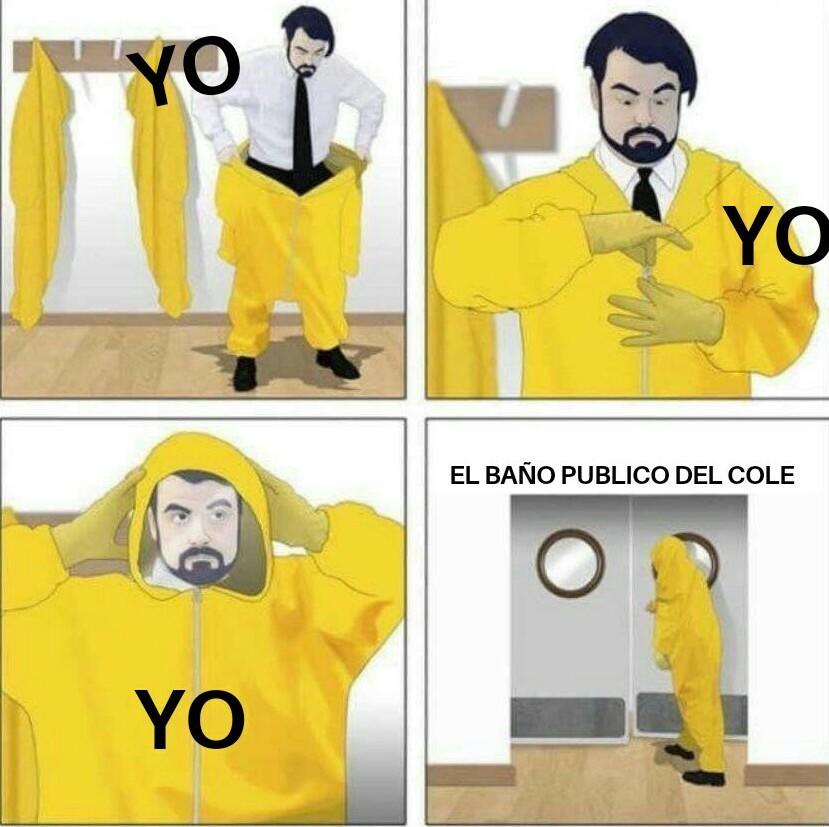 Cole = colegio - meme
