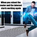 The new Hacker Man just teleports into random server rooms