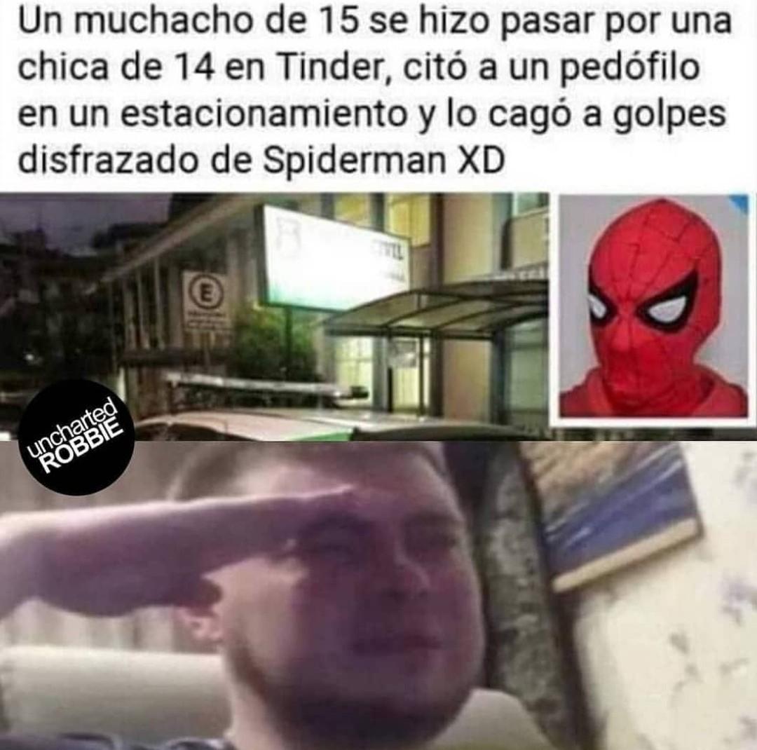 Es un héroe - meme
