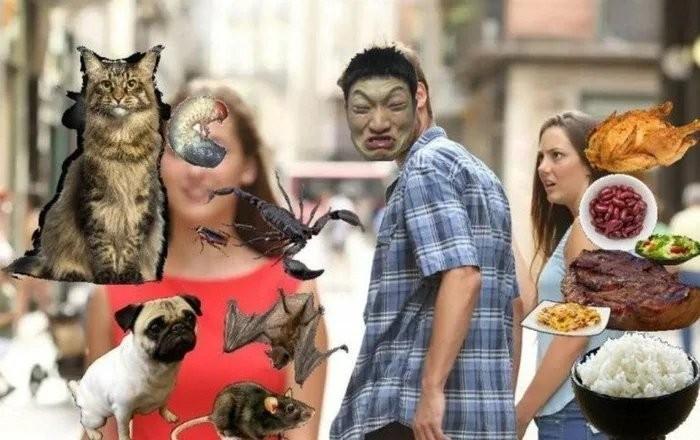 Mate um chinês na pedrada - meme