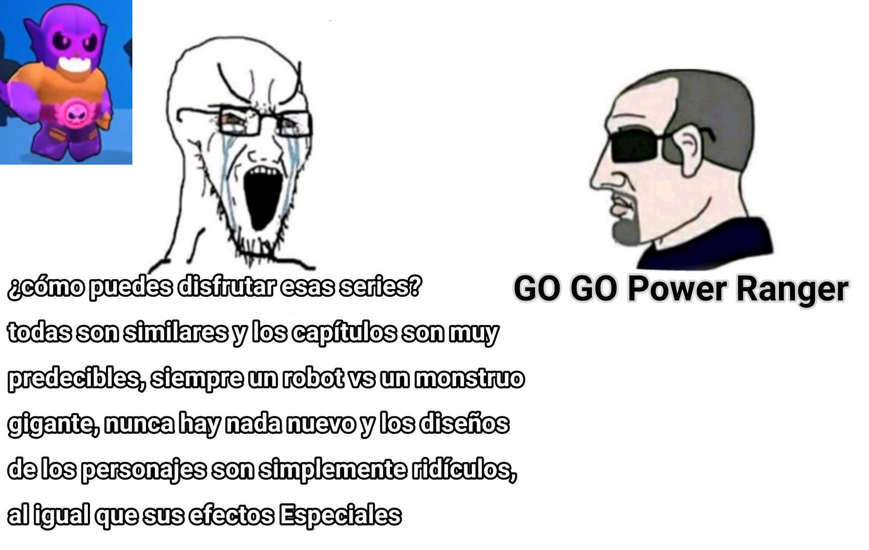 GO GO POWER RANGERS - meme