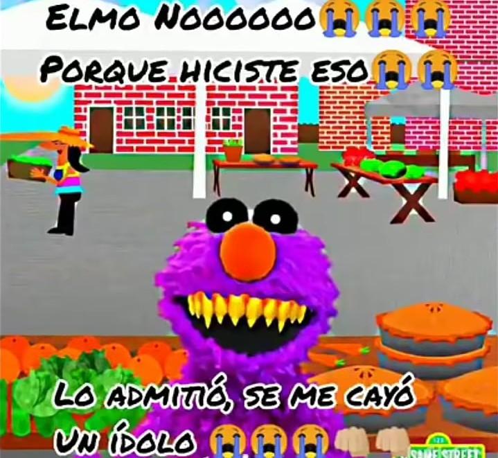 Elmoooooooooo - meme