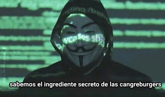 El Anonymous lo sabe :0 - meme