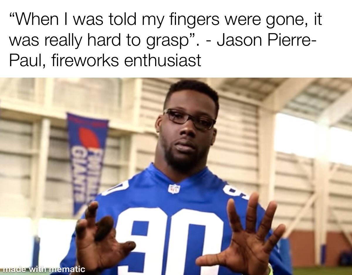 Jason Pierre Paul - meme