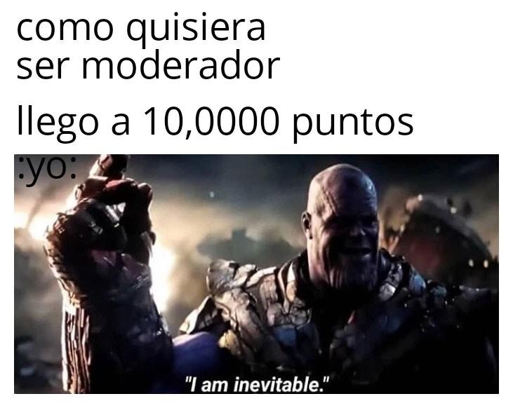 Por fin tengo el poder - meme