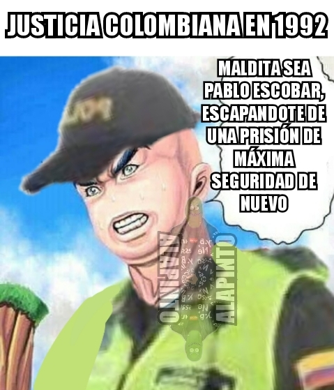 HITLER O PABLO ESCOBAR - meme