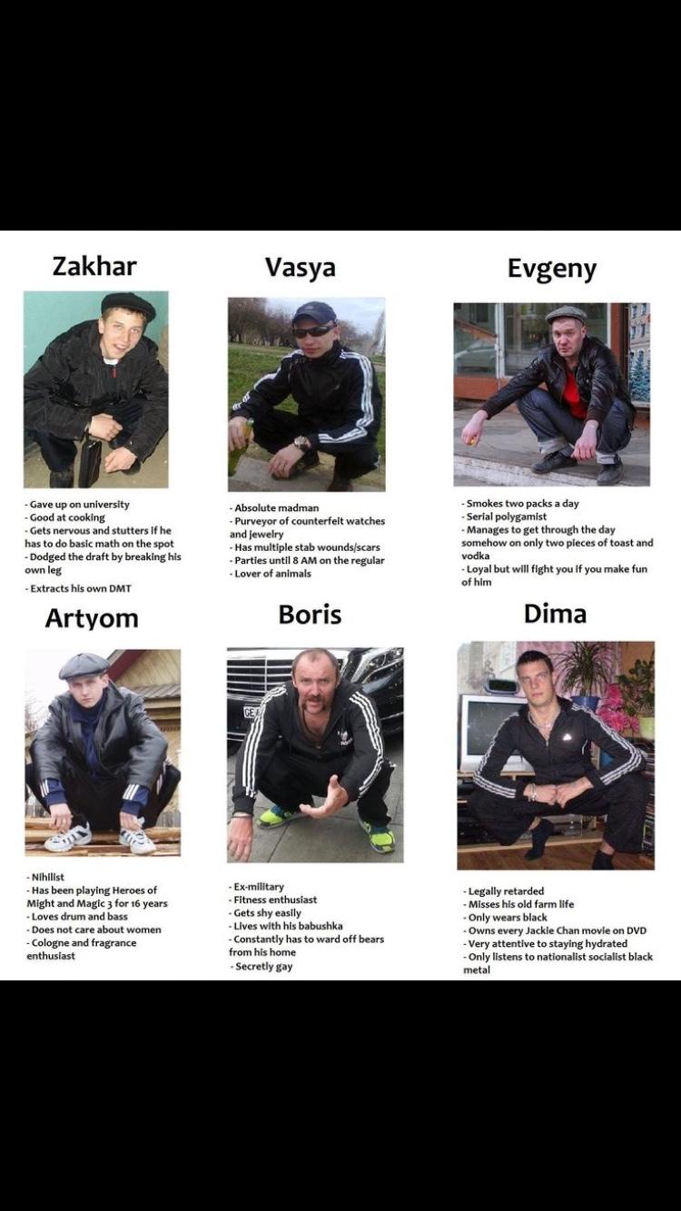 know your slavs part 2 - meme