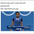 The password is password