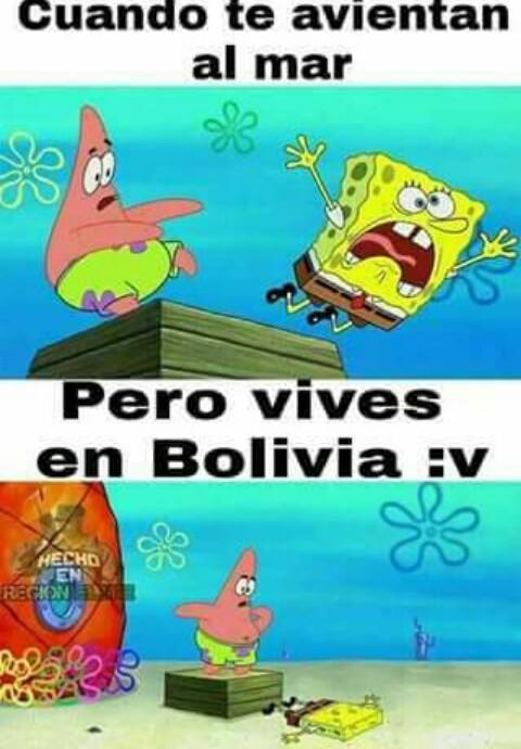 Pobres Bolivianos JaJaJa - meme