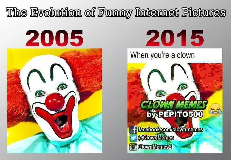 This clown loves you ♡♡♡♡♡ - meme
