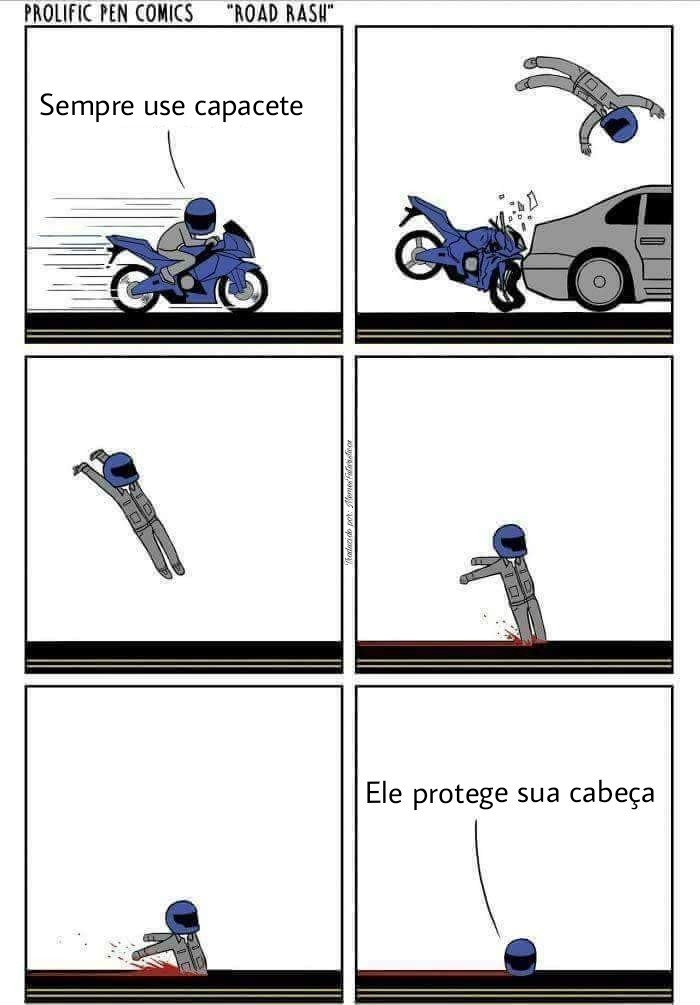 Usem capacete - meme