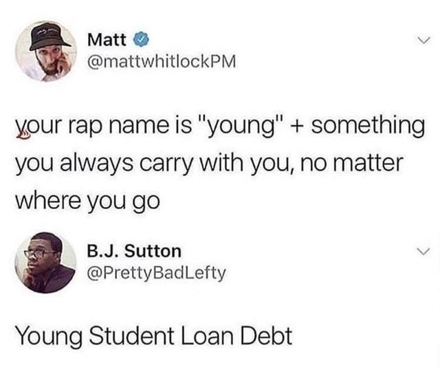 What is your rap name? - meme