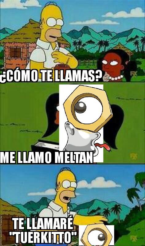 El nuevo pokemon - meme