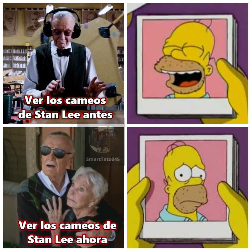 Feliz cumpleaños Stan Lee :'( - meme