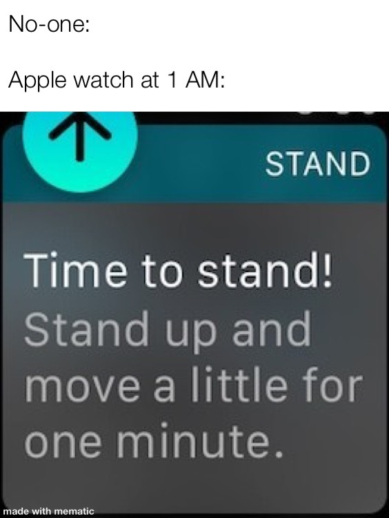 Apple watch - meme