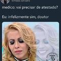 Infelizmente - Meme médico
