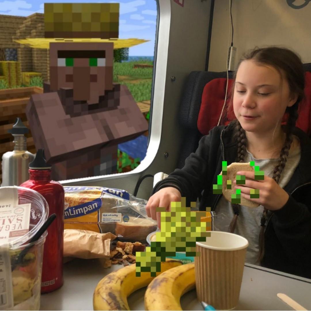 Minecraft xd - meme