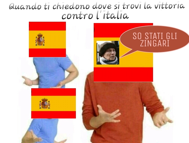 SO STATI GLI ZINGARI - meme