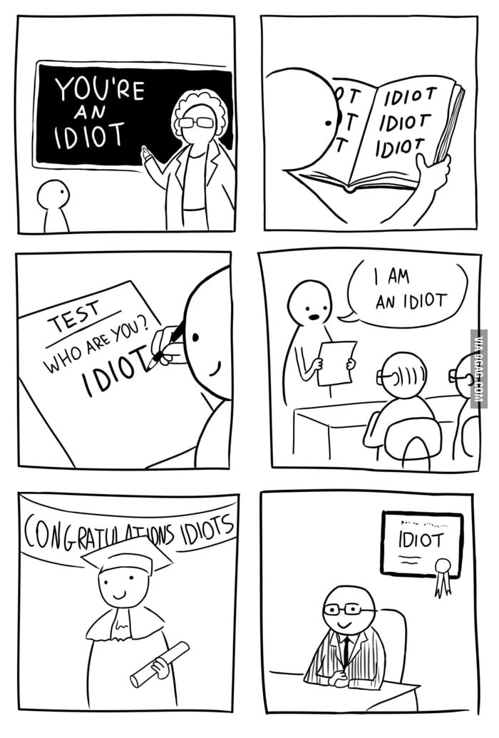 Idiota - meme
