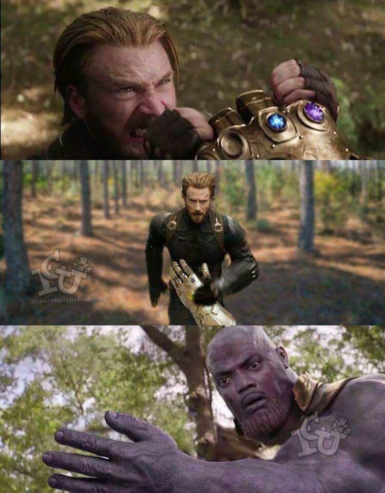Spoiler de como acabará infinity war xd - meme