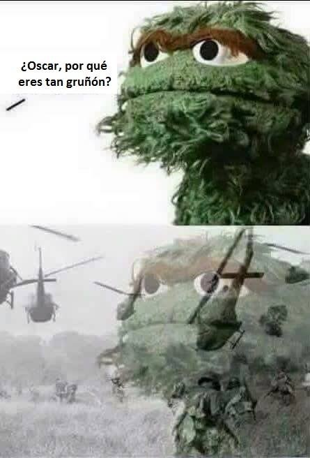Vietnam flashback... - meme