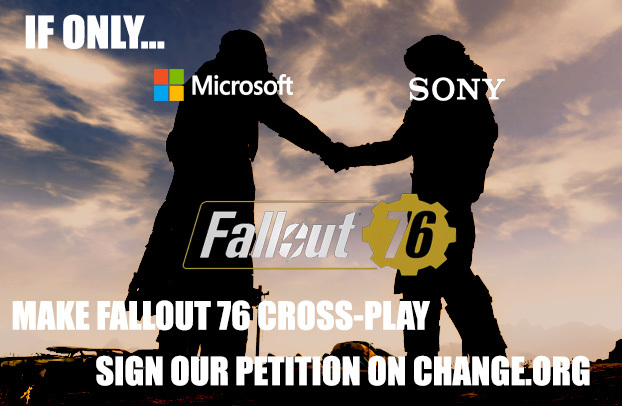 Make Fallout 76 Cross Play! - meme