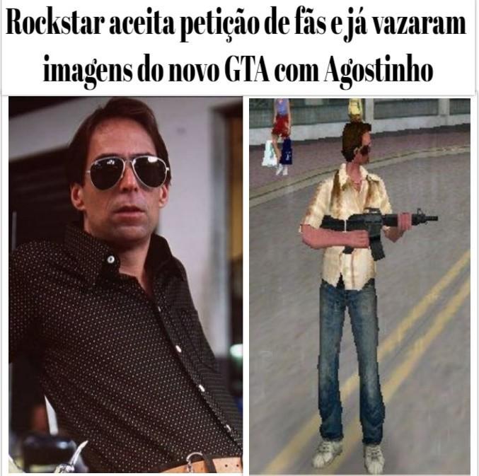 GTA Agostinho - meme