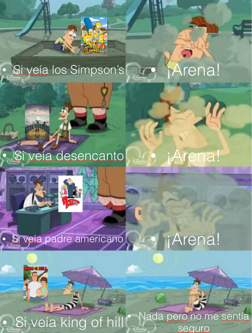 ¡ARENA! - meme