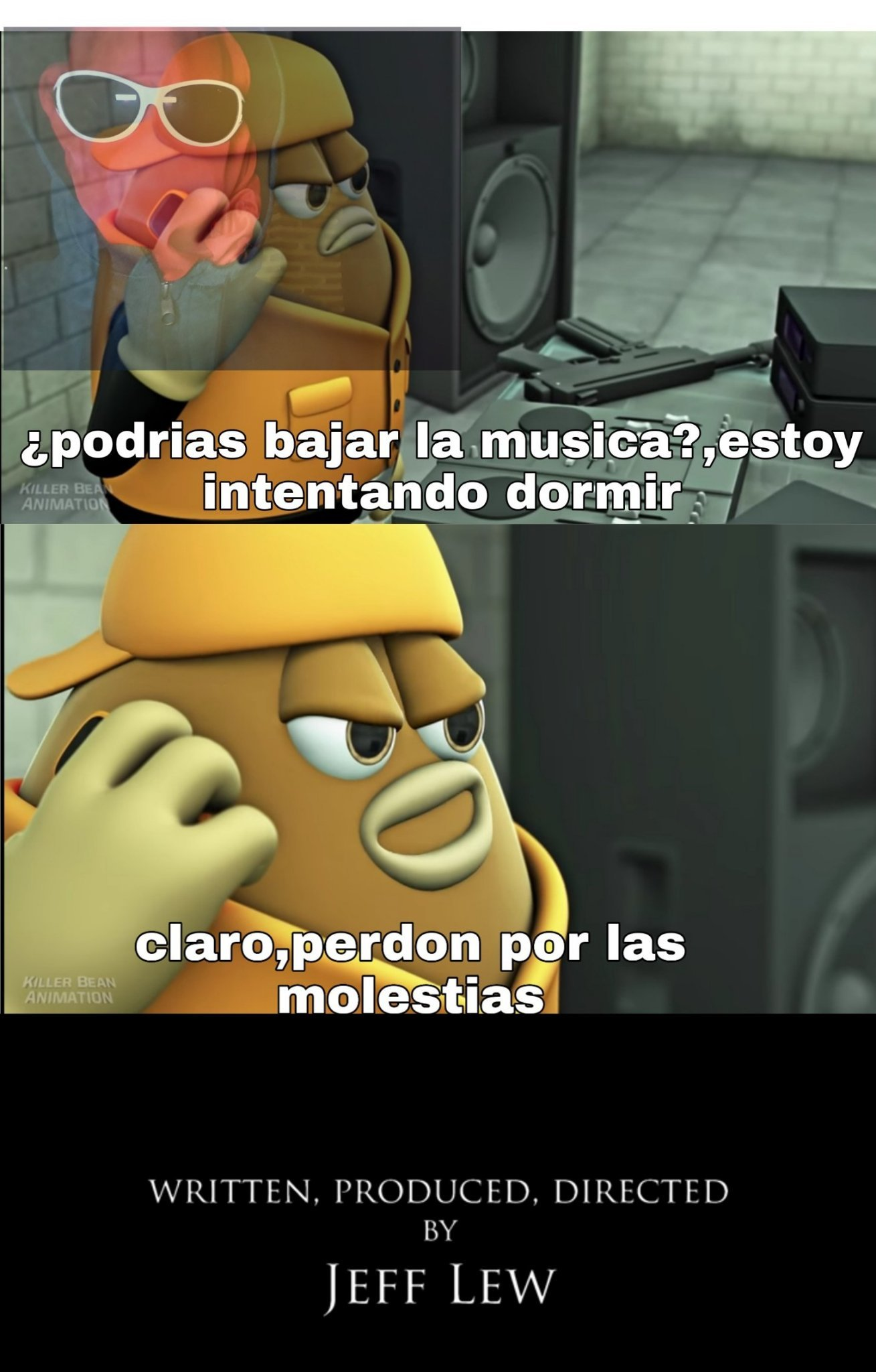 Killer bean,tremendo peliculon - meme