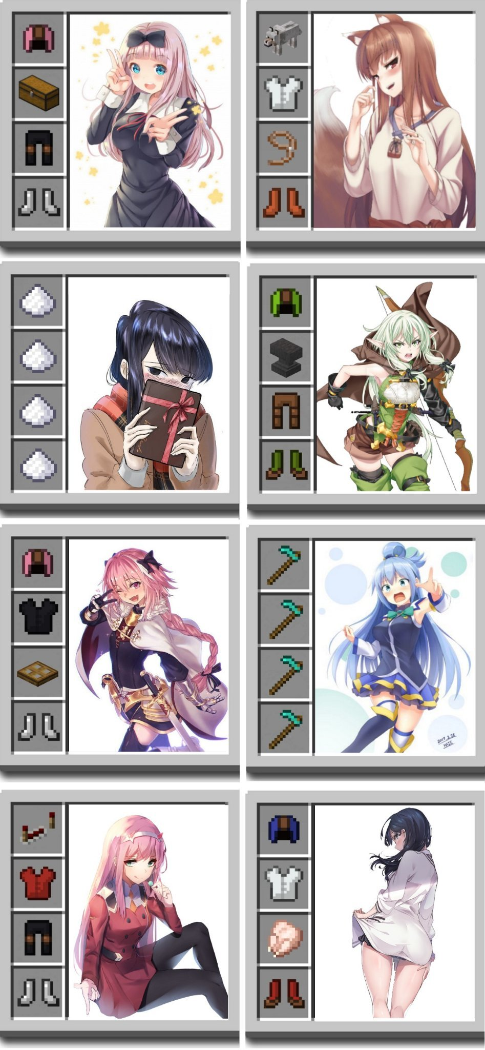 Gonna try these armor sets later - meme
