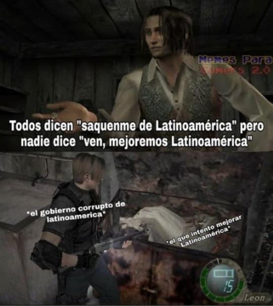 Saquen me de Latinoamérica (Rianse por favor) - meme