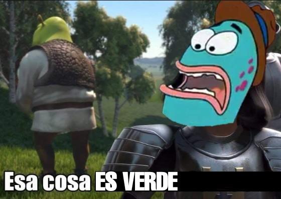 Es verde:motherofgod:VERDE:raising:!!!! - meme