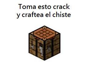 Anda y craftealo - meme