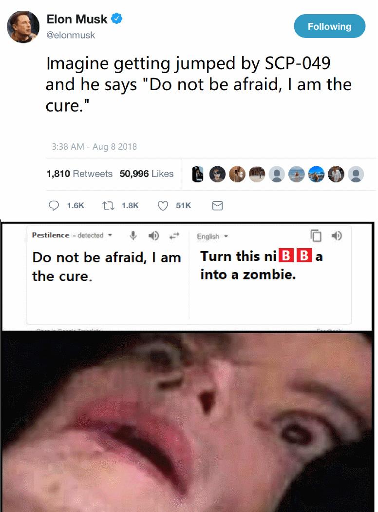 Do not trust SCP-049 - meme