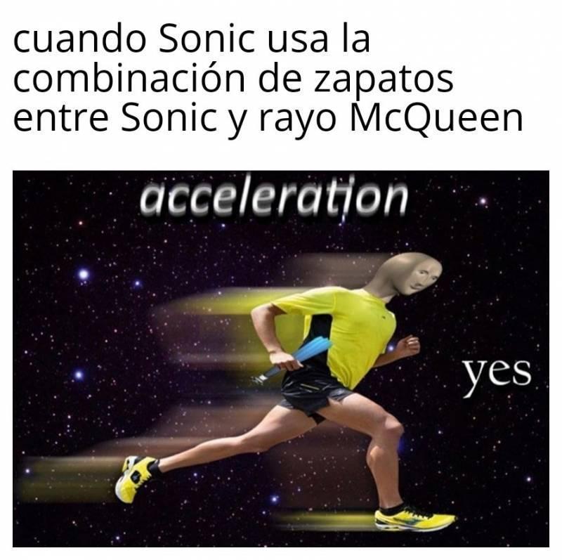 Soy veloz - meme