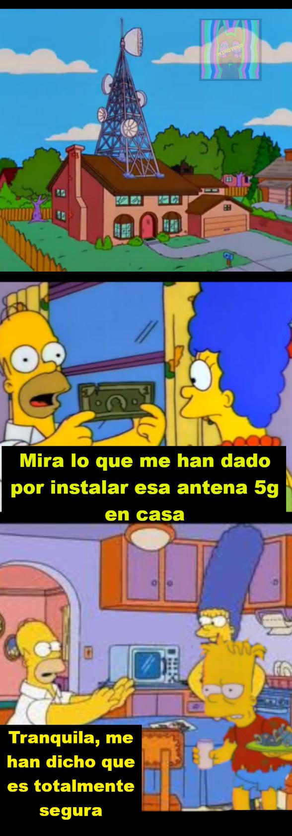 El 5G es inofensivo decian... - meme