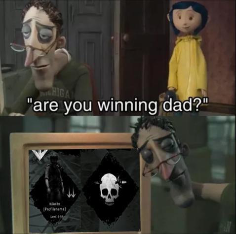 Me every time I play Hunt u.u - meme