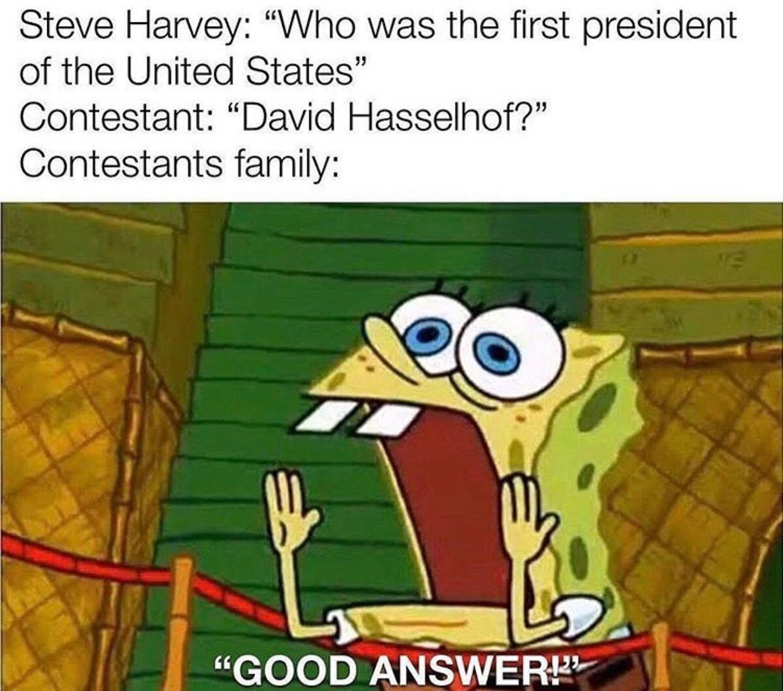 Steve Harvey is god - meme