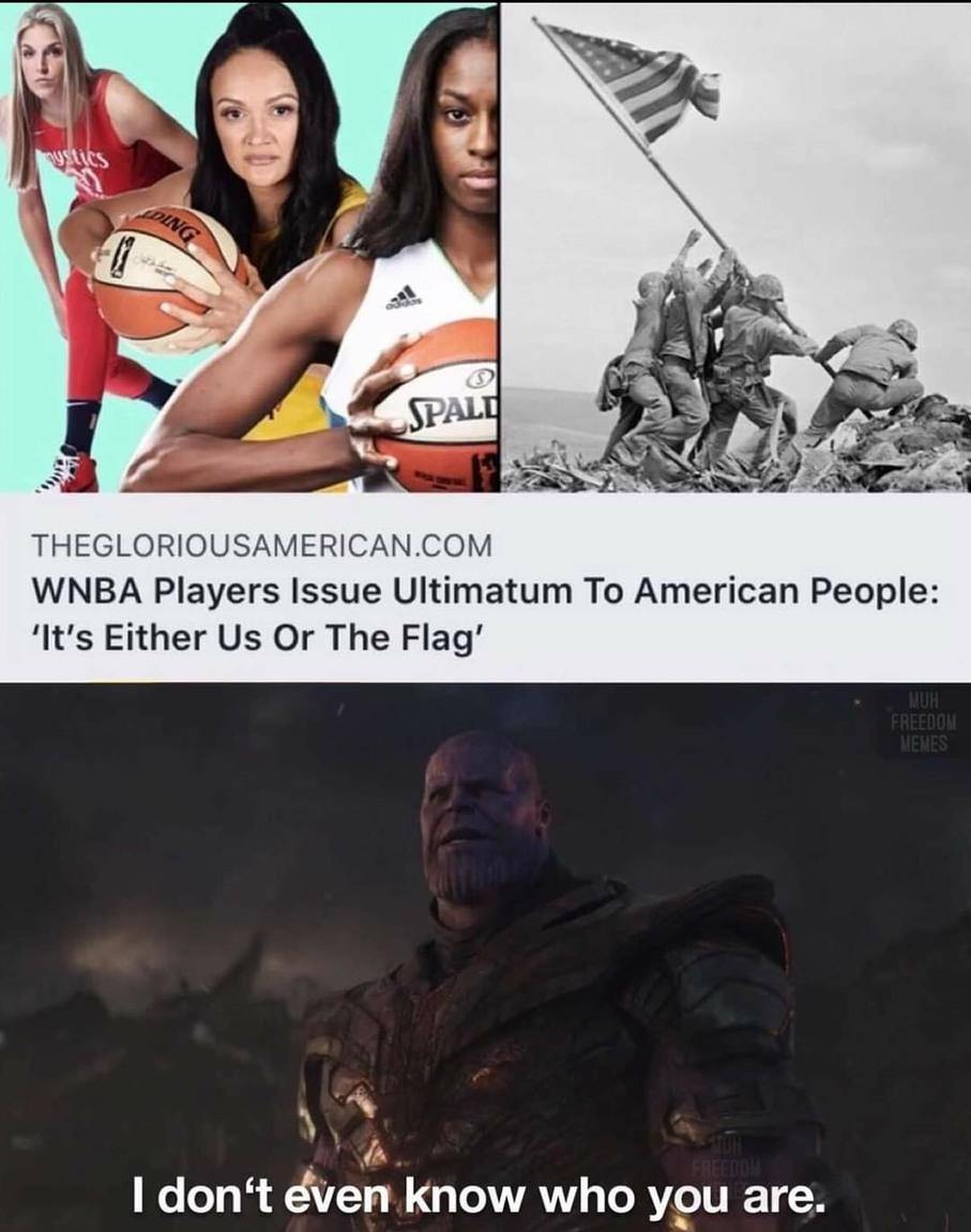 Ha, women's sports - meme