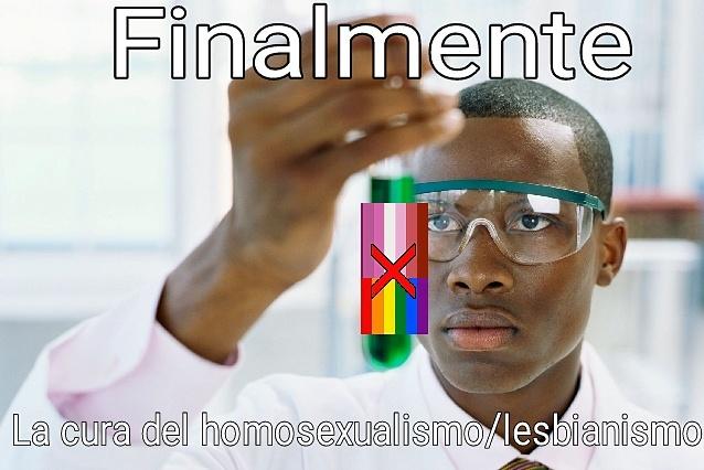Ya no habra mas homosexuales y lesbianas - meme