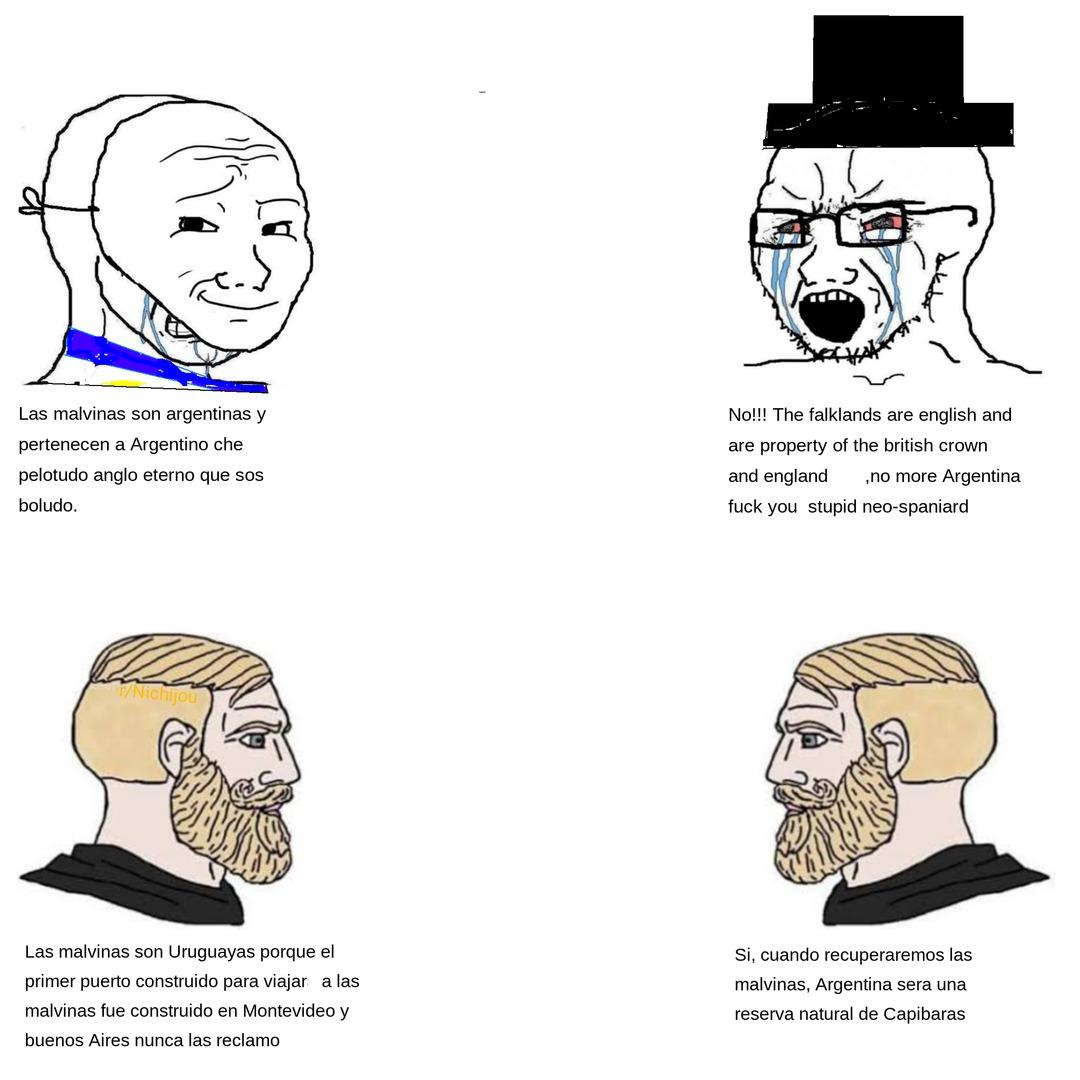 malvinas uruguayas - meme