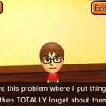 My mii in Tomodachi life is so accurate