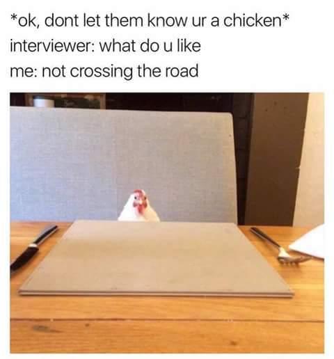 Chicken - meme